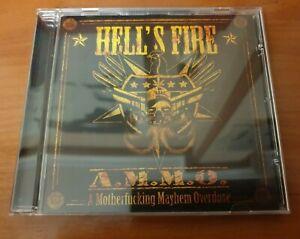 HELLS FIRE-A.M.M.O. CD spanish metal-ZENOBIA-ARIDAY-NOVA ERA-GUADAÑA