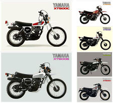YAMAHA Posters XT500 Set of 6 1976 1977 1978 1979 1980 1981 Suitable to Frame