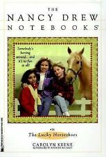 The Lucky Horseshoes - Carolyn Keene Nancy Drew Notebooks #26 horse riding