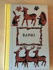 """Bambi"" by Felix Salten, Hardcover, Early Printing 1957, Junior Deluxe Edition"