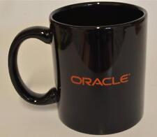 Oracle  Black Ceramic Coffee Cup Mug ~ Advertising NEW in BOX