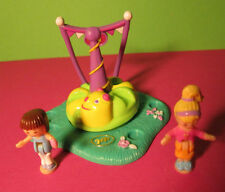 Polly Pocket Mini ♥ Silly Spinner ♥ Kreisel ♥ 1996 ♥ 2 Pollys ♥ 100% Komplett ♥
