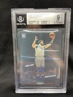 2018 Chronicles Luminance Luka Doncic RC Rookie Card #166 BGS Graded 9 Mint M53