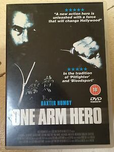 Carter Wong Baxter Humby ONE ARM HERO ~ Old School Kung Fu Film | UK DVD