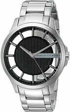 Armani Exchange  A|X Men's Stainless Steel Bracelet Watch 46mm AX2179