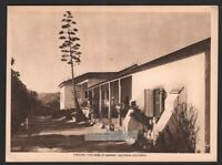 Rancho Camulos The Home Of Ramona Southern California1916 Photogravure Print