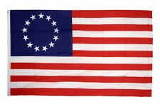 Betsy Ross Flag 5 x 3 FT - USA United States Of America 13 Stars 1776 4th July