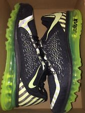 Size 10 Nike Air Max 2015 NR Running Shoes 746687-014 Black OG Retro