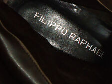 FILIPPO RAPHAEL KneeHighStuddedBrownSuedeSz38