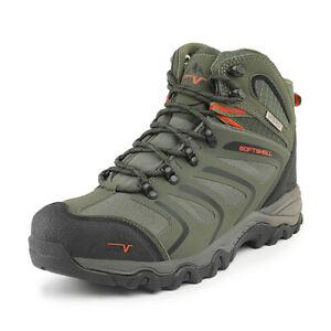 NORTIV 8 Men's Hiking Boots Winter Outdoor Lightweight Trekking Trails Shoes