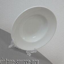 alter Pagnossin Ironstone Keramik Teller Suppenteller 30 cm mid Century 50er J.