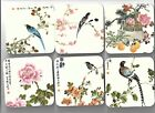 Pimpernel+Acrylic+coasters+Oriental+flowers+and+birds.