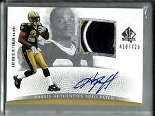 Antonio Pittman 2007 SP Authentic Autograph Game Jersey Patch Rookie #418/725