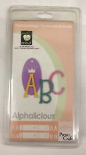 CRICUT FONT CARTRIDGE PROVO CRAFT ABC ALPHALICIOUS BRAND NEW RARE NOS RETIRED !!