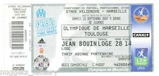 Billet  / Place  OM Olympique de Marseille -OM vs Toulouse ( 043 )