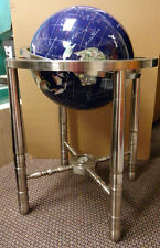 LARGE GLOBE pressure stone in lay Make an Offer! MINT condition!