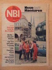 NBI 52/1985 ** Henry Maske Erich Honecker Kurt Weill Kristalle Roboterwerk MD