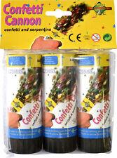 1 canon à LANCER confettis 11cm cotillons féte mariage anniversaire party popper