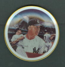 "Mickey Mantle 1986 Sports Impression Mini 4"" Plate New York Yankees"