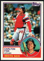 1983 Topps Baseball - Pick A Player - Cards 1-200