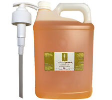 MACADAMIA OIL - COLD PRESSED VIRGIN (AUS) - 100% PURE - 5L + PUMP