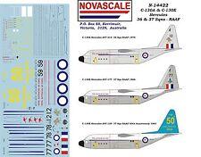 RAAF C-130A&E Hercules Decals 36&37Sq 1/144Scale N14422