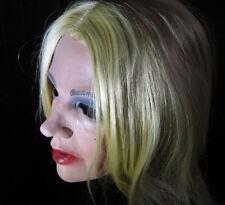 Latexmaske MARYLIN +WIMPERN - Real. weibliche Frauenmaske Frau Trans Gesicht