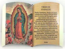 Oracion A, Virgen de Guadalupe para pared & soporte para mesa 6x4 Pulgadas New