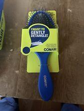 CONAIR - Detangling  Brush Wet or Dry Hair - 1 Brush Blue