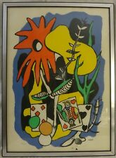 """Fernand Leger Original Lithograph """"King of Hearts"""". LE #231/300. Pencil Signed"""