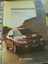 VAUXHALL Omega BROCHURE GAMMA 1996 modelli ed 1