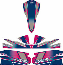 2015 KOSMIC STYLE CADET FULL KART STICKER KIT M5 - KARTING - JakeDesigns