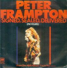 "7"" Peter Frampton/Signed Sealed Delivered (D)"
