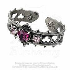Alchemy Elizabethan Pewter Bracelet 'Symbol of the Heart' A78