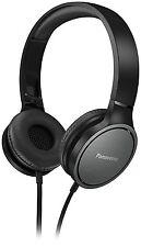 Panasonic RP-HF500ME-K On Ear Kopfhörer (Headset, 9-25.000 Hz, 40mm Wandler, Ohr