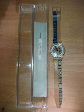 Swatch Uhr zur Firmenfussion Daimler-Chrysler Ref. No. 157 / D.C. neue Batterie!