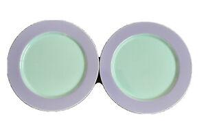 Lindt Stymeist Colorways Blue Green Dinner Plates * Set of 2