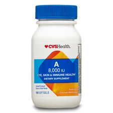 CVS Health Vitamin A Softgels 8000IU (2400mcg), 100CT