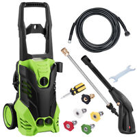 High Power Electric Pressure Water Washer 1800W 3400PSI 1.7GPM With Hose&Nozzle