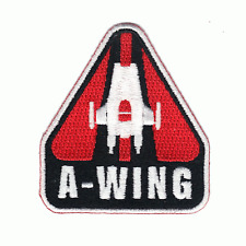 Star Wars The Last Jedi 'A-Wing' Official Lucasfilm Embroidered Iron On Patch