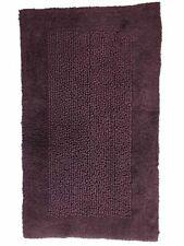 Threshold Plush Purple Grape Chunky Textured Cotton Bath Rug, Throw Mat 23x38