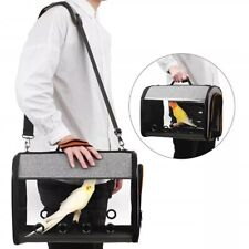 BIRD TRAVEL CARRIER Portable Backpack With Double Zipper Easy Transparent Nice