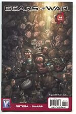 Gears Of War 4 Wildstorm 2009 NM X-Box 360 Video Game Comic