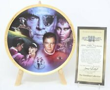 Star Trek The Movies Collector Plate The Undiscovered Country Star Trek Vi Coa