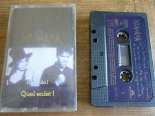 Rare K 7 / Cassette / Niagara - Quel Enfer /  1988