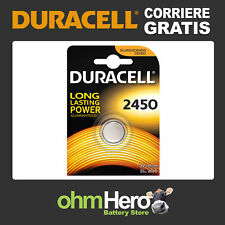 2450 DURACELL CR2450 Batteria a bottone CR 2450 BR2450 DL2450 Pila