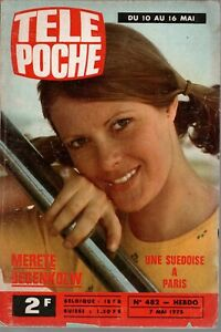 TELE POCHE n° 482 - MERETE DEGENKOLW - UNE SUEDOISE A PARIS