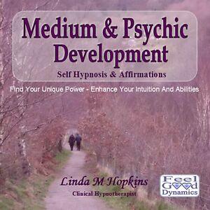 Medium and Psychic Development CD Self Hypnosis Guided Meditation CD