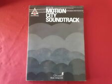 Motion City Soundtrack - The Best of . Songbook Notenbuch Vocal Guitar