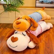 Cute Dog Pillow Soft Plush Toy Dolls Decorative Cushions Hug Travel Long Pillows